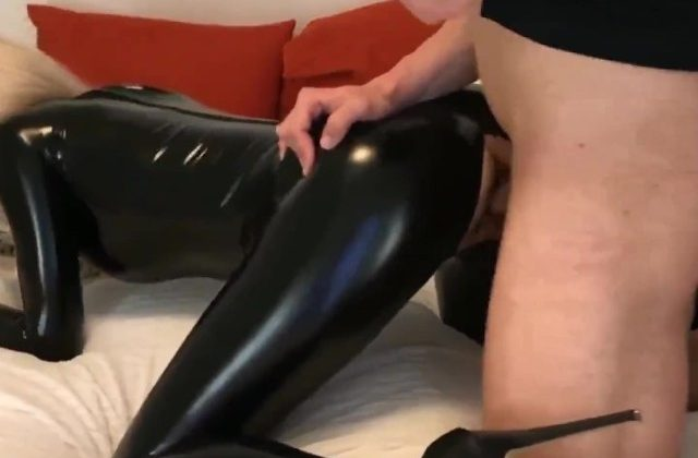 LATEX CATSUIT LATEXFICK